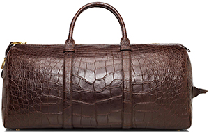 Tom Ford Buckley Alligator Duffle Bag: US$41,310.