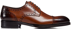 Tom Ford Edward Cap Toe Brogue Lace Up: US$1,890.