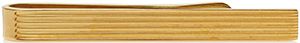 Tom Ford Gold Striped Tie Bar: US$290.