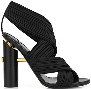 Tom Ford Pleated Wrap Sandal: US$1,590.