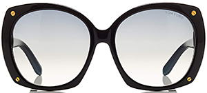 Tom Ford Gabriella Round Women's Sunglasses: US$405.