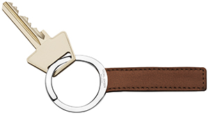 Georg Jensen Barbry men's keyring: US$60.