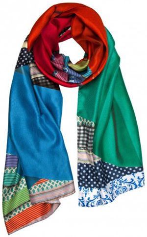 Susannagh Grogan Ribbon Long silk scarf - limited edition: €195.