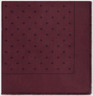 Gucci men's Wool silk scarf with bees and stars: US$610.