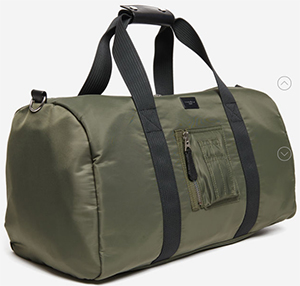 Sandro men's Gym Bag: US$495.