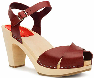 Swedish Hasbeens women's Merci Sandal.