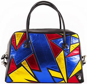 Terry de Havilland Zia Luxury Shopper Black/Multi: £495.