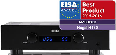 Hegel H160 amplifier.
