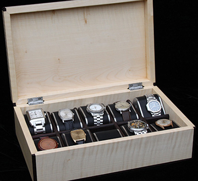 Henry Tuke watch box: £2,500.