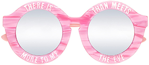 House of Holland Women's Pinky Promise Sunglasses: £90.