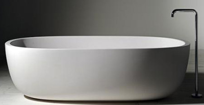 Iceland Bathtub, designed by Piero Lissoni for Boffi.