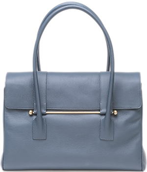 Jardine of London large City bag Suffolk blue: £695.