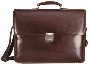 Jekyll & Hyde Oxford 17-inch Large RFID Briefcase: £399.