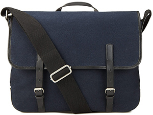 Jigsaw Canvas men's Messenger bag: £79.