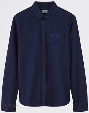 Jigsaw men's Indigo Dot Pattern shirt: £89.