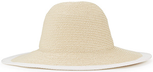 Jigsaw women's Contrast Edge Floppy hat: £49.