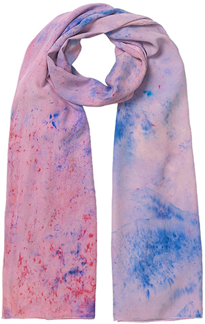 Jigsaw women's Audrey All Over Hand Paindted Scarf: £150.