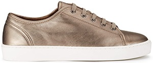 Jigsaw women's Ayda Leather trainers: £98.