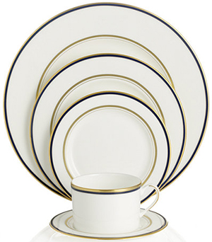 Library Lane Navy 5-Piece Place Setting by kate spade new york:US$129.