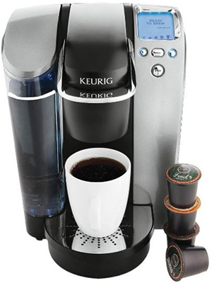 Keurig B70 Platinum Single Cup Brewing System RED.