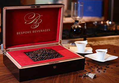 Bespoke Beverages KL Diamond 100% peaberry Kopi Luwak coffee.