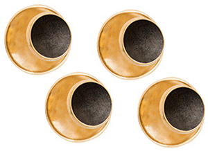 Philip Kydd Gold Studs 218 Black 9ct.