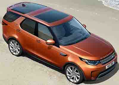 Land Rover Discovery (2017).