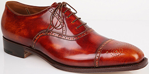 Silvano Lattanzi custom made men's shoe.