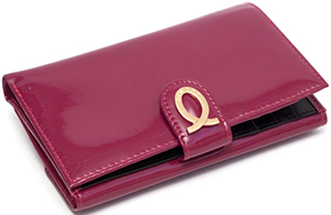 Launer Raspberry Logo Purse: £280.