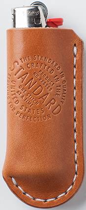 Standard Leather Co. Campfire Tan Lighter Case: US$22.