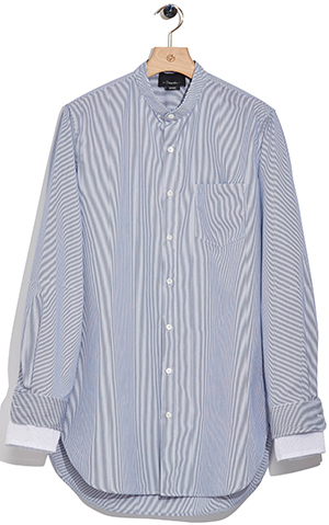 3.1 Philip Lim Button-up shirt with trompe l'oeil cuff: US$425.