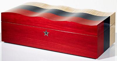 David Linley Russian Flag Humidor: £6,950.