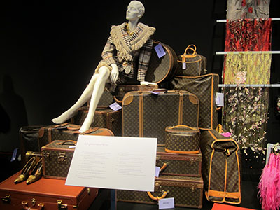 Elizabeth Taylor's Louis Vuitton luggage.