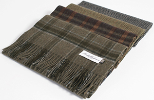 London Undercover men's scarves.