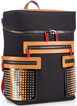 Christian Louboutin men's Apoloubi Backpack: US$2,250.