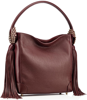 Christian Louboutin women's Eloise Hobo Fringe Bag: US$2,100.