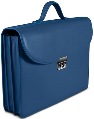 Lucrin briefcase with 3 gussets: US$548.