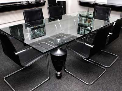 Luzzo bespoke board room table.