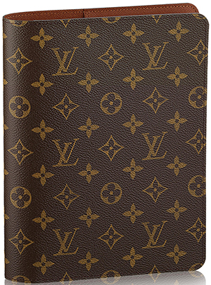 Louis Vuitton Desk Agenda Monogram Canvas: US$555.
