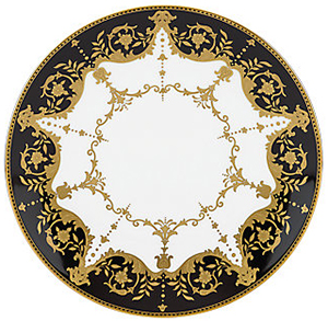 Marchesa Couture Baroque Night 9-inch Accent Plate by Lenox: US$79.