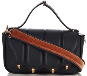 Marco De Vincenzo Paw-effect medium leather shoulder bag: US$1,844.