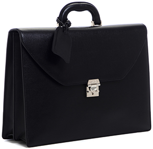 Mark Cross Classic Briefcase Black: US$2,495.