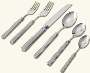 Match Pewter Gabriella Placesetting: US$40–US$300.