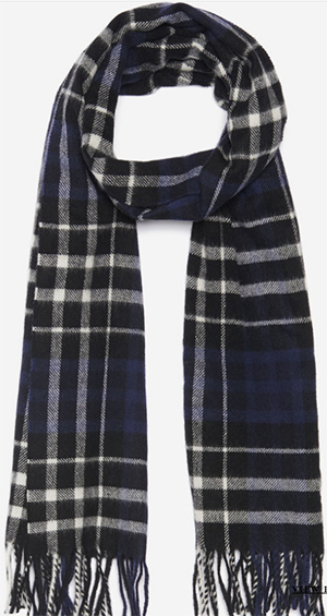 Sandro men's Scotland scarf: US$235.