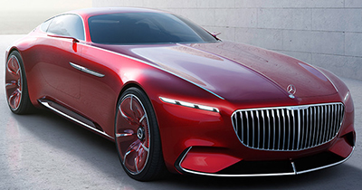 Mercedes-Benz Vision Mercedes-Maybach 6.