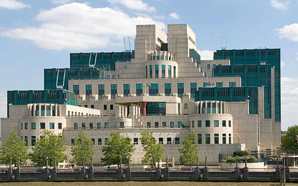MI 6 Building, 85 Albert Embankment, Vauxhall, Lambeth, London SE1 7TP, England, U.K.