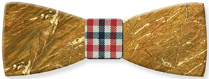 Mikol Galaxy gold marble bow tie: US$110.