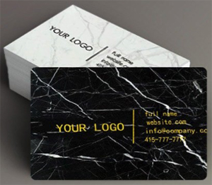 Top 25 best high end luxury business card visiting card printing nero marquina marble business cards us125 colourmoves