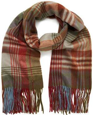Mulberry Heritage Mulberry Check Cashmere Women's Stole: US$595.