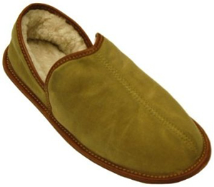 Mulholland Waxed Canvas Slipper.